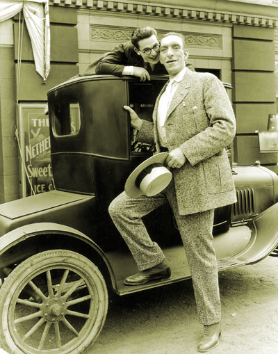 Harold Lloyd with George Auger