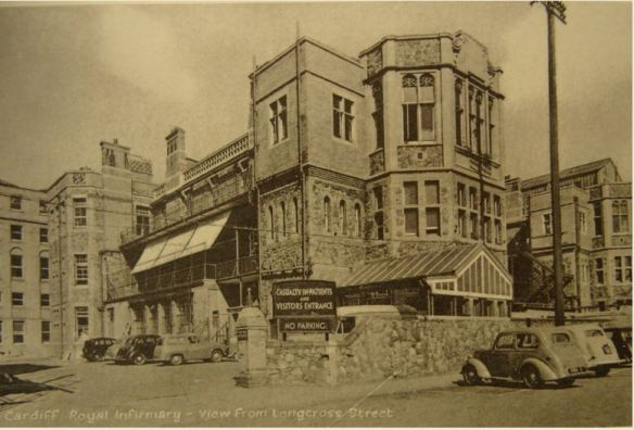 cardiff-royal-infirmary-in-the-1950s