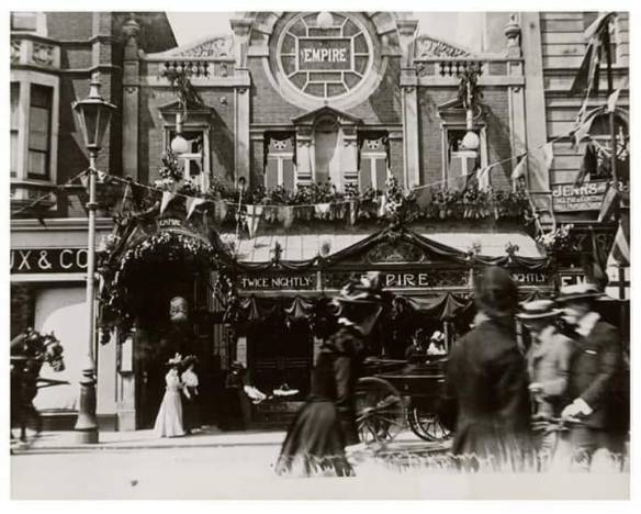 Empire Theatre ueen Street 1901