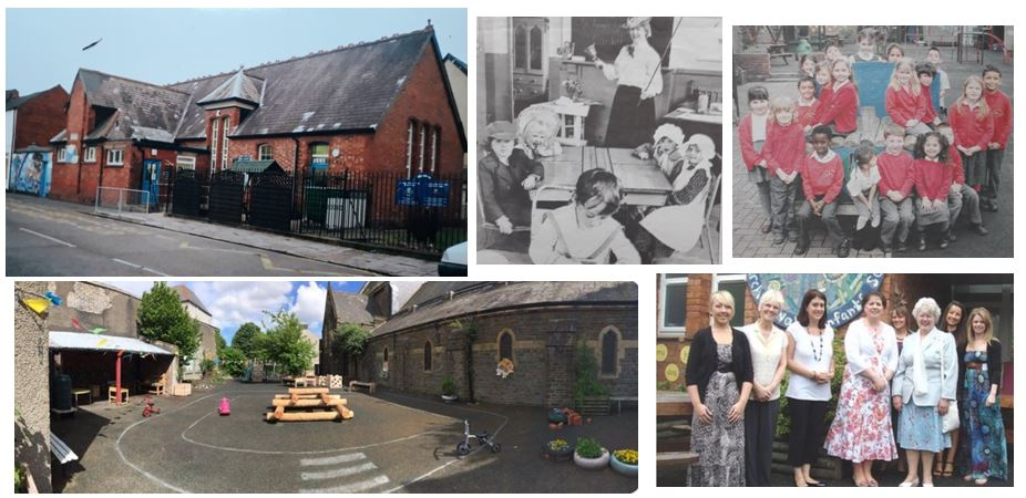 St Anne's school, Crofts Street, Roath, Cardiff