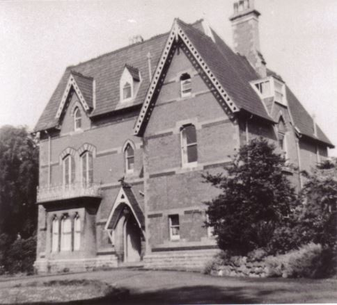 Bronwydd (photo - Professor W. E. Waters, a previous owner of Bronwydd)