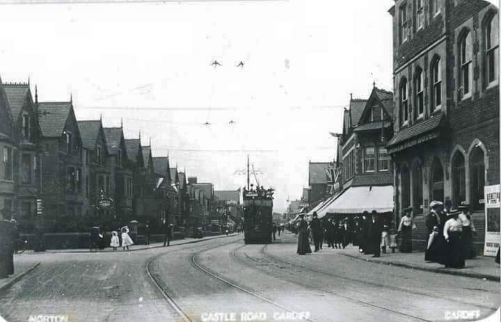 Castle Road, Roath, Cardiff