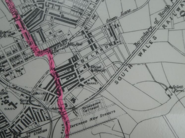 Christ Church or Splott Chapel, Metal Street map