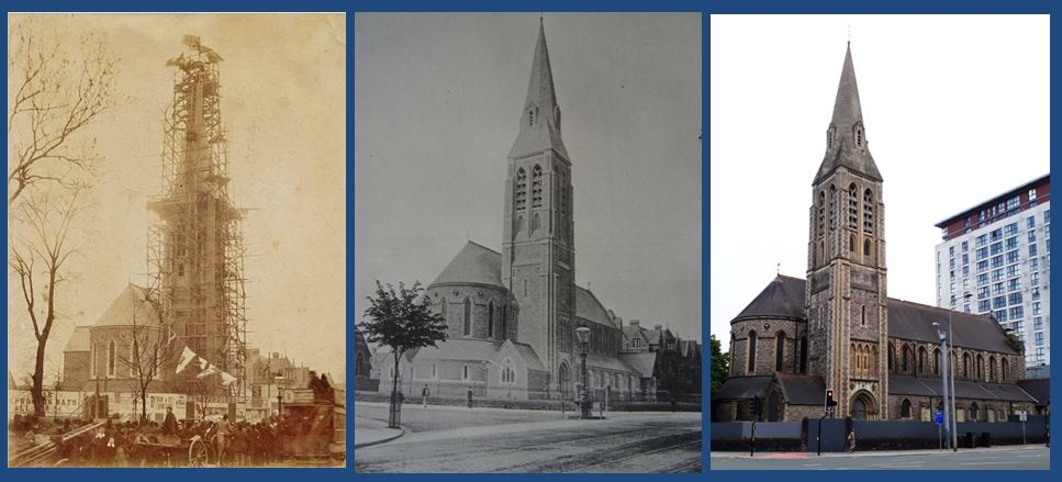 St James the Great, Cardiff through the ages.