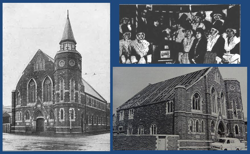 Ainon Baptist Church, Walker Road, Splott, Cardiff