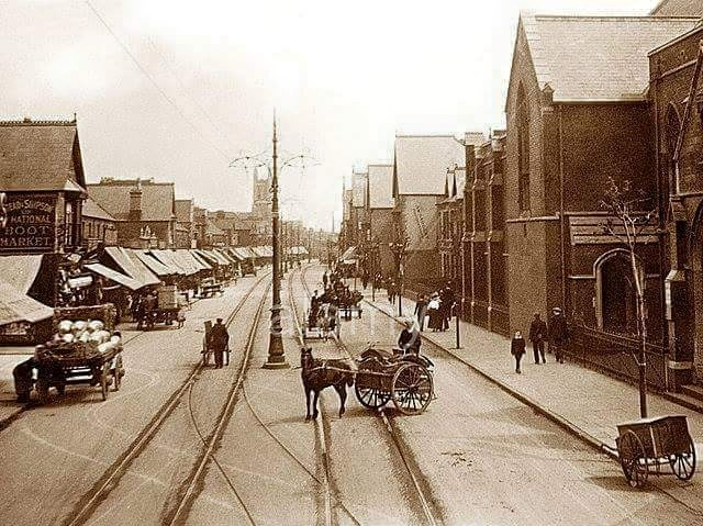 albany-road-roath-cardiff-in-the-early-1900s