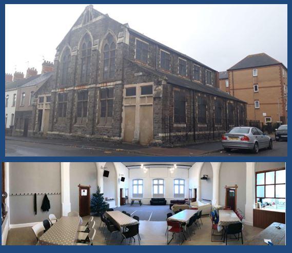 Redeemer Cardiff, Railway Street, Splott, Cardiff