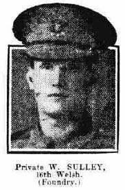 William Sulley, Welsh Regiment and Westen Mail Ltd