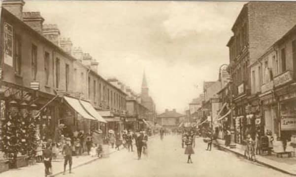 Clifton Street - around 1900? - looking towards Newport Road.