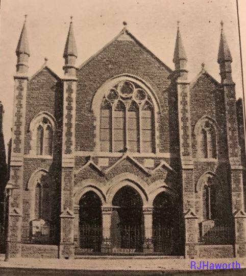 Ebenezer Baptist Church Cardiff Exterior
