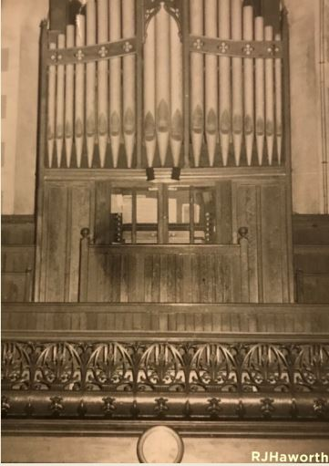 Ebenezer Baptist Church Cardiff Organ