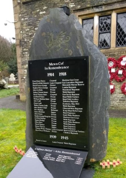 Eglwyswrw memorial