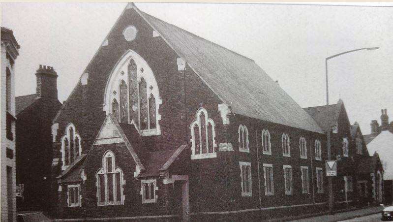 Jerusalem Welsh Calvinistic chapel, Marion Street, Splott, Cardiff in 1986