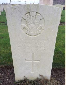 Launcelot Bridges Shipton headstone