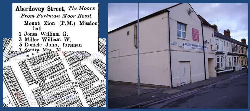 Mount Zion, Aberdovey, East Moors, Cardiff