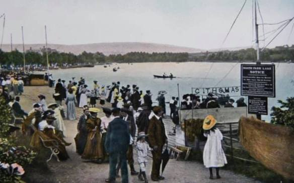 Roath Park Lake 1896
