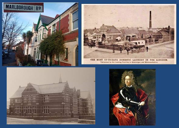 A look at the history of the streets in the Pen-y-lan area of Cardiff, Wales.