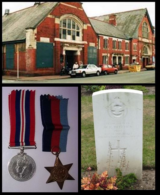 Walter Ronald Beechey childhood home, medals and headstone