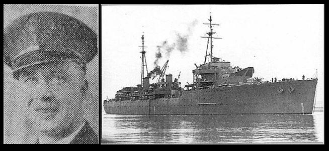 William Kenneth Llewellyn Collard and HMS Hecla