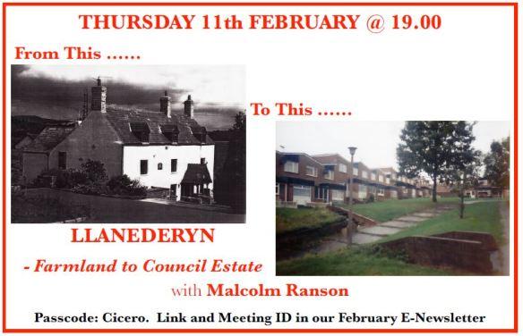 2021 Feb - Mallcolm Ranson - History of Llanederyn