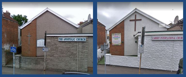 Cardiff International Church and the Apolstolic church