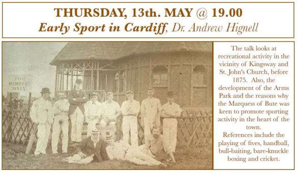 2021 Apr - Early Sport in Cardiff - Dr Andrew Hignell