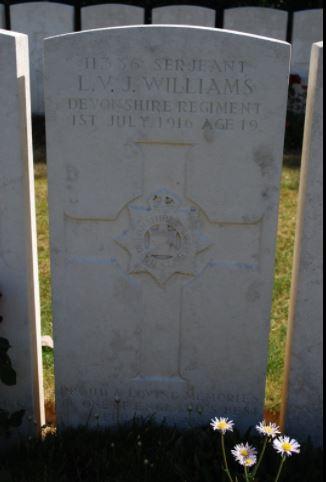 Grave of LVJ Williams