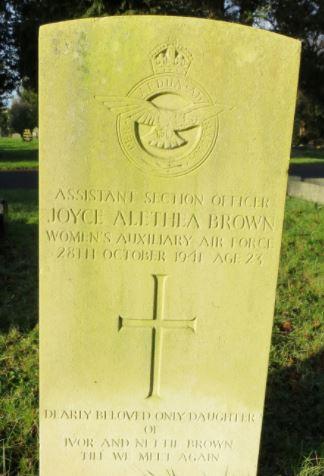 Joyce Alethea Jones headstone