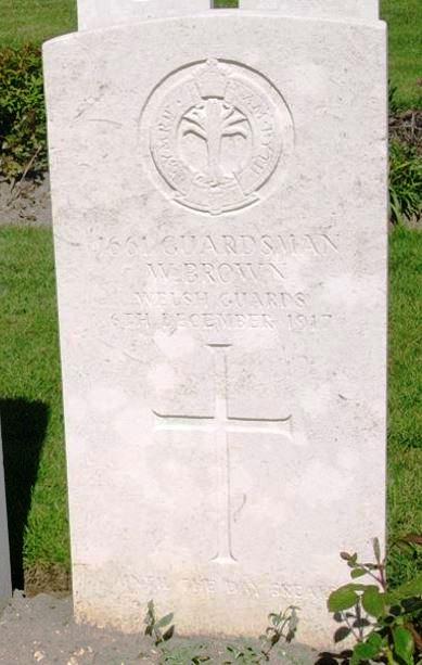 William Brown headstone