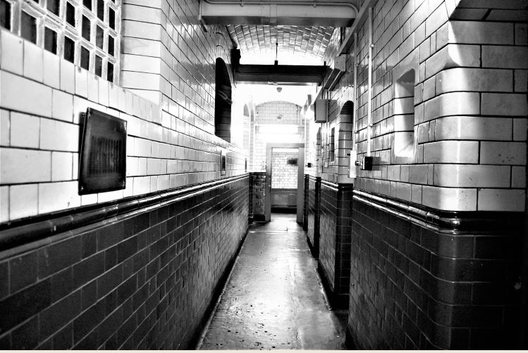 Cells at Roath Police Station, Clifton Street, Cardiff
