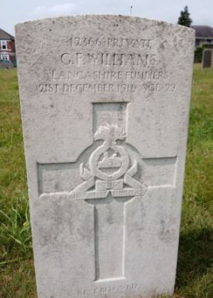 George Francis Williams headstone