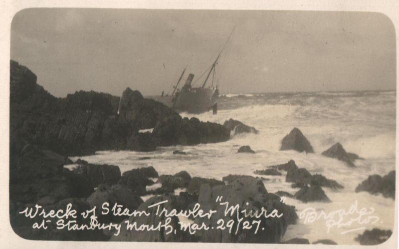 Miura trawler 1927 Bude Cornwall