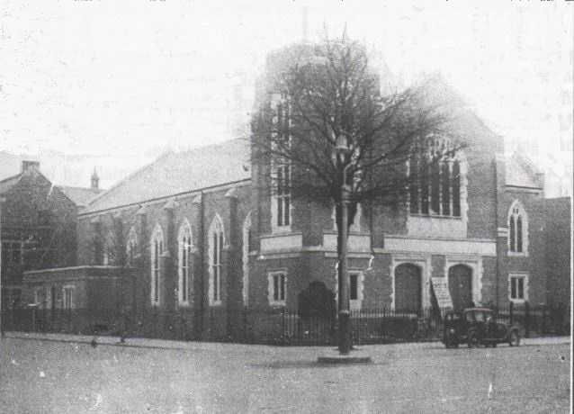Albany Road Baptist Church at the time of opening in 1932