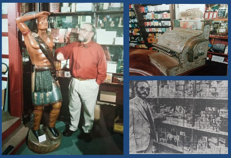 Graham Harker at the Wellfield Tobacconist